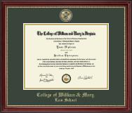 Masterpiece Cypher Logo Medallion Diploma Frame in Kensington Gold