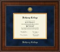 Presidential Gold Engraved Diploma Frame in Madison