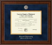 Presidential Masterpiece School of Divinity Diploma Frame in Madison