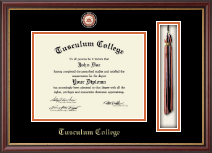 Tassel Masterpiece Medallion Edition Diploma Frame in Newport