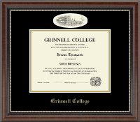 Grinnell College Campus Cameo Diploma Frame in Chateau