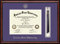 Kansas State University Tassel Edition Diploma Frame in Southport