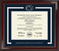 Spirit Medallion Double Diploma Frame in Encore