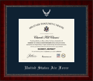 Silver Embossed Certificate Frame in Sutton