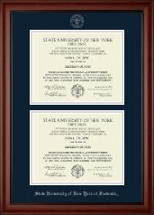 Double Diploma Frame in Cambridge