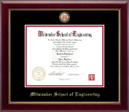 Nursing Seal Masterpiece Medallion Diploma Frame in Gallery