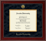 Arcadia University Presidential Gold Engraved Diploma Frame in Jefferson