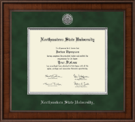 Masters - Presidential Silver Engraved Diploma Frame in Madison