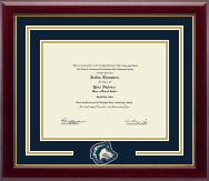 Spirit Medallion Diploma Frame in Gallery