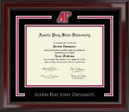Austin Peay State University Spirit Medallion Diploma Frame in Encore