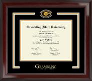 Grambling State University Spirit Medallion Diploma Frame in Encore