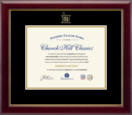 Embossed Pharmacy Certificate Frame in Gallery