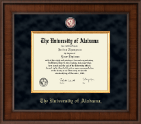 Presidential Crimson Masterpiece Diploma Frame in Madison