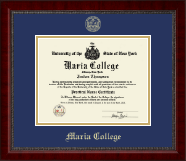 Gold Embossed Diploma Frame in Sutton
