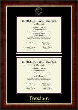 Double Diploma Frame in Murano