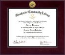 Century Gold Engraved Diploma Frame in Cordova