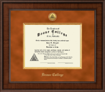 Presidential Gold Engraved Diploma Frame in Madison