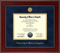 Presidential 23K Medallion Diploma Frame in Jefferson