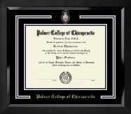 Spirit Medallion Diploma Frame in Eclipse