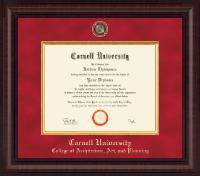 Presidential Black Enamel Masterpiece Diploma Frame in Premier