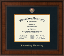 Bloomsburg University Presidential Masterpiece Diploma Frame in Madison