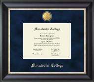 23K Medallion Diploma Frame in Noir