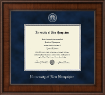 University of New Hampshire at Manchester Presidential Masterpiece Diploma Frame in Madison