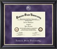 Kansas State University Regal Edition Diploma Frame in Noir