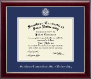Masterpiece Medallion Diploma Frame in Gallery Silver
