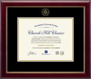 Embossed Registered Nurse Certificate Frame in Gallery