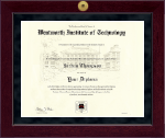 Millennium Gold Engraved Diploma Frame in Cordova