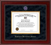 Registered Investment Advisor Presidential Masterpiece Certificate Frame in Jefferson
