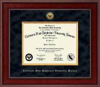 Presidential Gold Engraved Diploma Frame in Jefferson