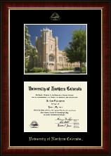 Campus Scene Edition Diploma Frame in Murano