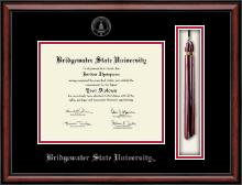 Bridgewater State University  Tassel Edition Diploma Frame in Southport