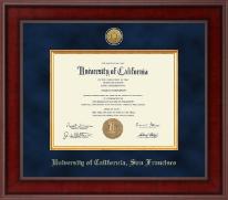 University Of California San Francisco Diploma Frames Church Hill Classics