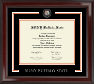 Buffalo State College Showcase Edition Diploma Frame in Encore
