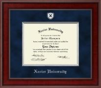 Presidential Shield Masterpiece Diploma Frame in Jefferson