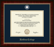 Masterpiece Medallion Diploma Frame in Murano