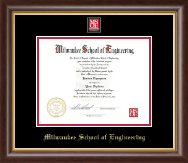 MSOE Masterpiece Medallion Diploma Frame in Hampshire