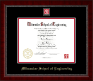 MSOE Masterpiece Medallion Diploma Frame in Sutton