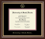Gold Embossed Diploma Frame in Hampshire