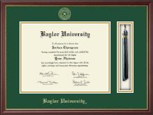 Baylor University Tassel Edition Diploma Frame in Newport