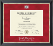 Regal Edition Law Diploma Frame in Noir