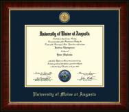 23K Medallion Diploma Frame in Murano