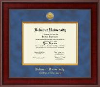 Presidential Gold Engraved Diploma Frame in Jefferson