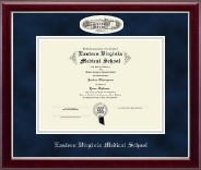 Campus Cameo Diploma Frame in Gallery Silver
