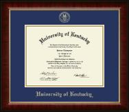 Gold Embossed Diploma Frame in Murano