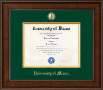 Presidential Masterpiece Diploma Frame in Madison