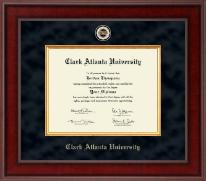 Clark Atlanta University Presidential Masterpiece Diploma Frame in Jefferson